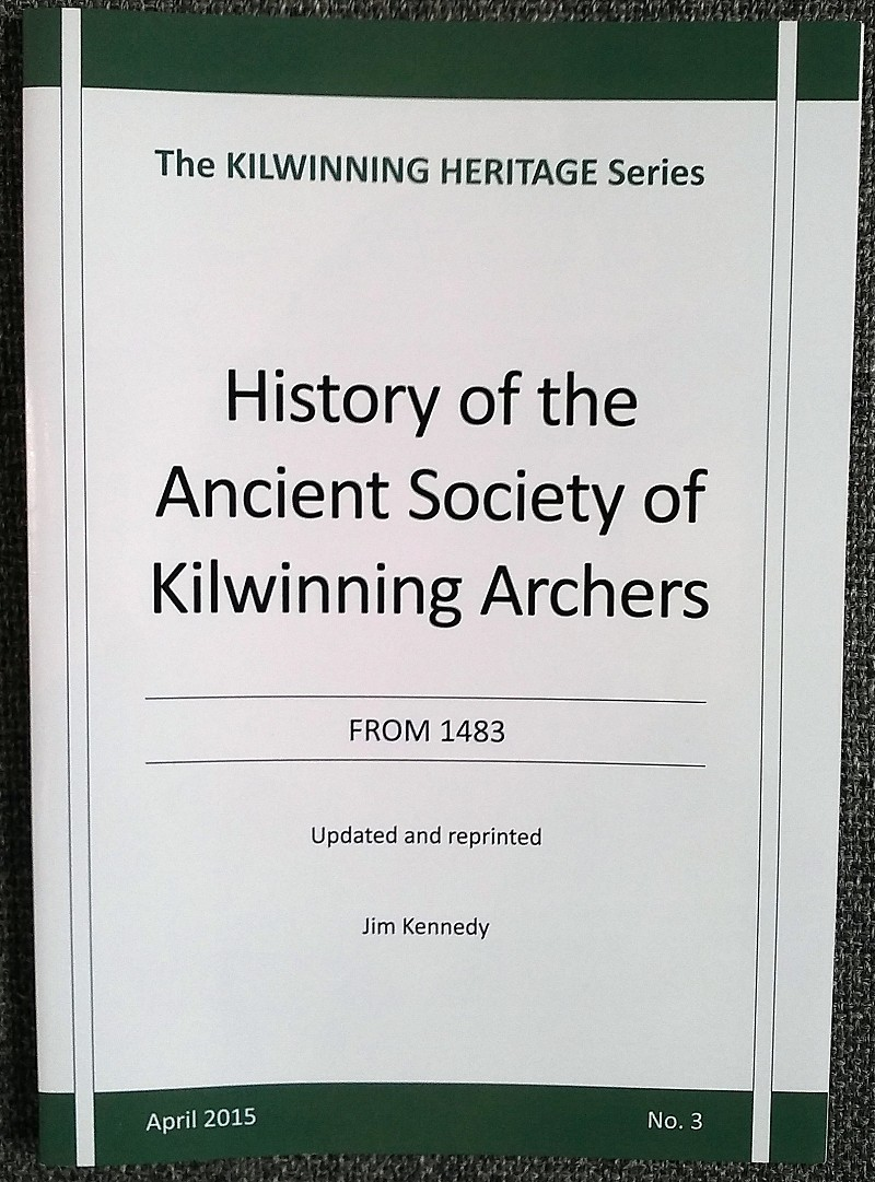History of the Archers  by Jim Kennedy</h3>